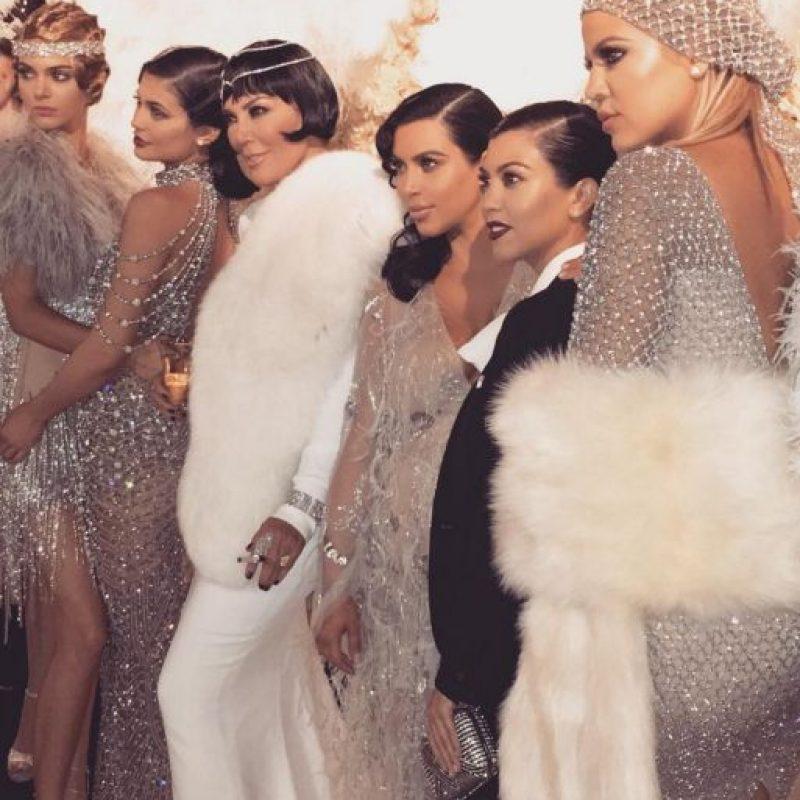 Kim también cobra por sus apariciones en las fiestas. Foto:vía Getty Images