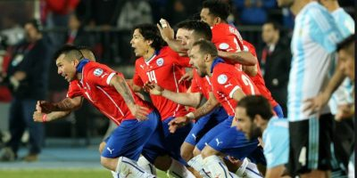 Chile vs. Argentina Foto:Getty Images