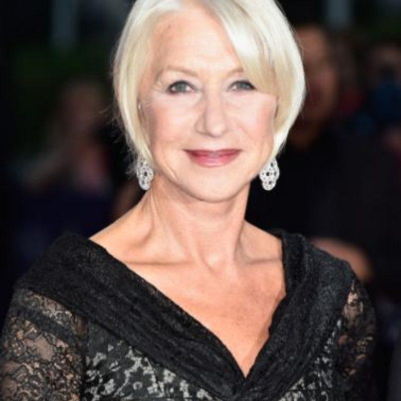 Recibió el Oscar por su interpretación de Isabel II. Es toda una leyenda de la actuación en Inglaterra. Foto:vía Getty Images