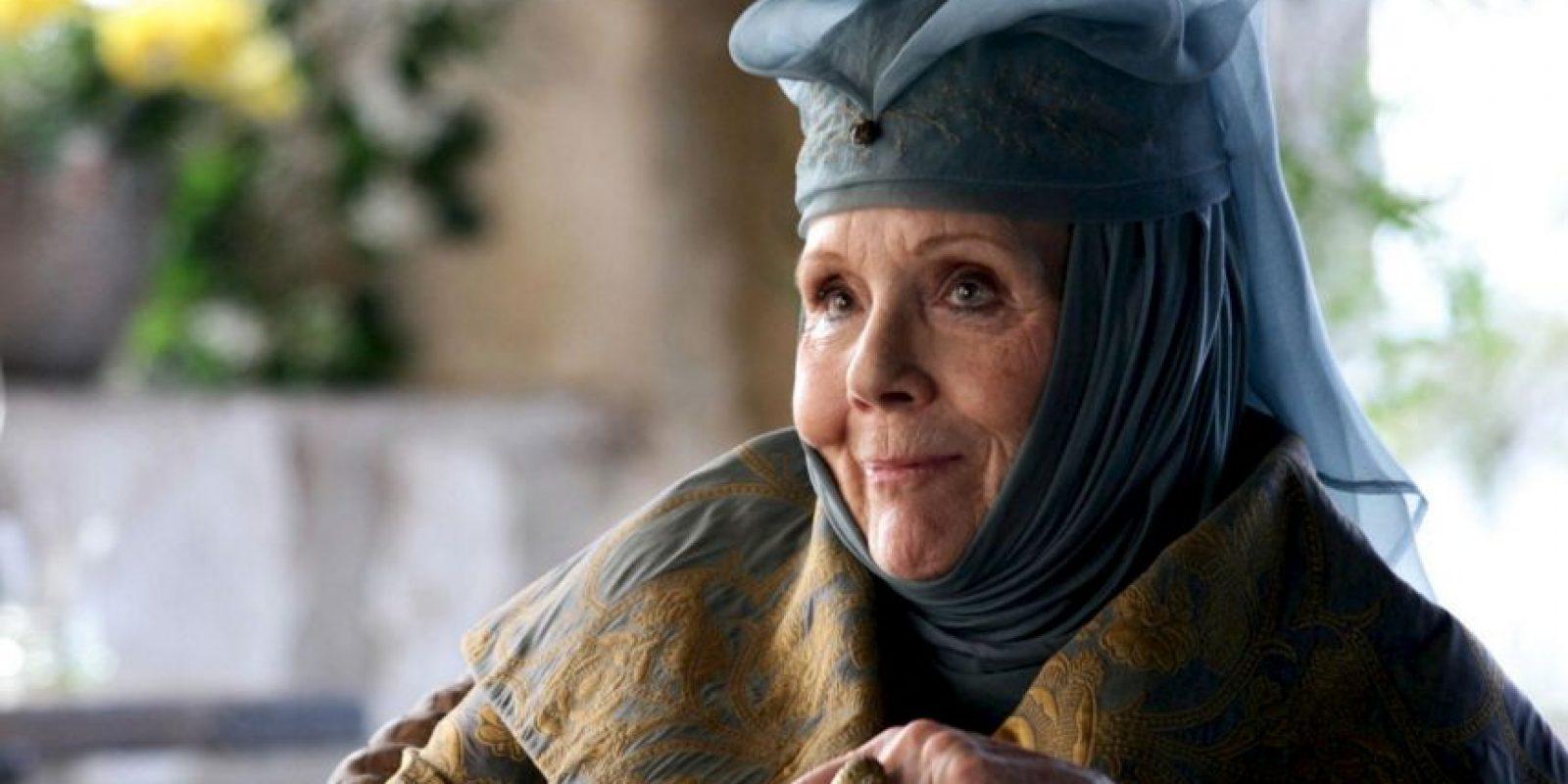 """Ahora es """"Olenna Tyrell"""" en """"Game of Thrones"""". Foto:vía HBO"""