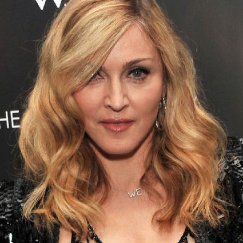 Madonna solo fue castaña muy al comienzo de su carrera. Foto:vía Getty Images
