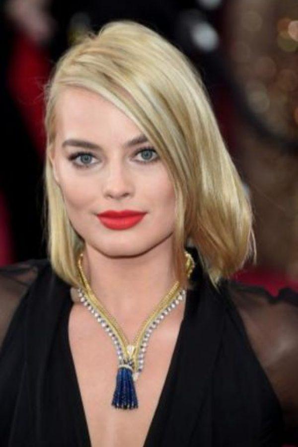 """Margot Robbie fue conocida con """"El Lobo de Wall Street"""". Foto:vía Getty Images"""