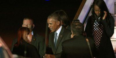 Después estar presente en la cena de honor que ofrecerá Macri. Foto:AFP