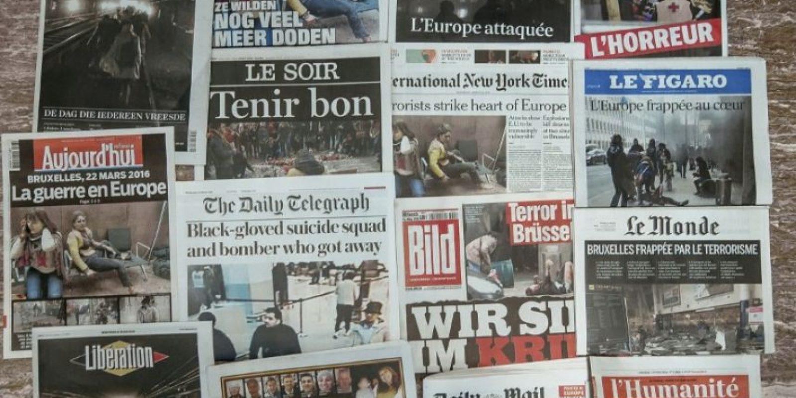 Un día después, así amaneció Bruselas Foto:AFP