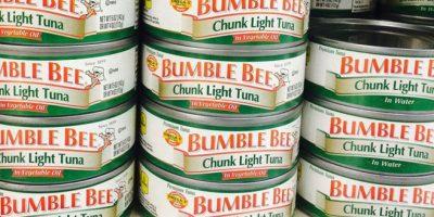 Pro consumidor alerta sobre contaminación en productos Bumble Bee Chunk Light Tuna