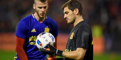 Contra Iker Casillas Foto: Getty Images