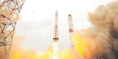 Nave espacial sale en busca de vida en Marte