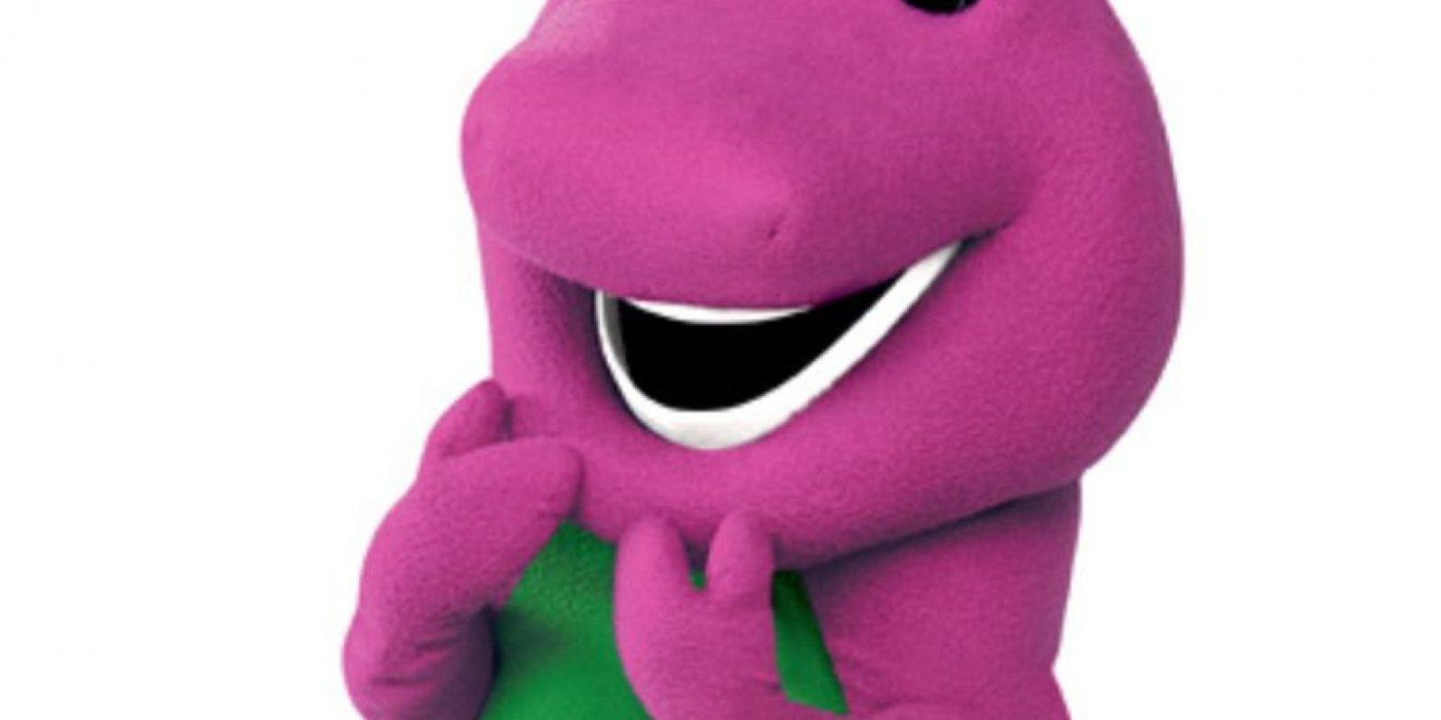Barney fue el dinosaurio más famoso de los años 90. Foto:vía PBS