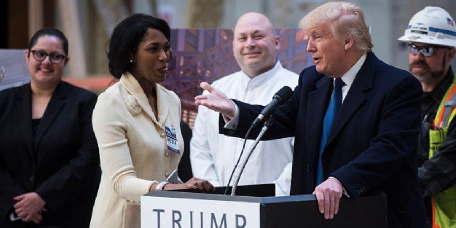 Trump derrotó a Ted Cruz en Arizona y a John Kasich. Foto:vía Getty Images