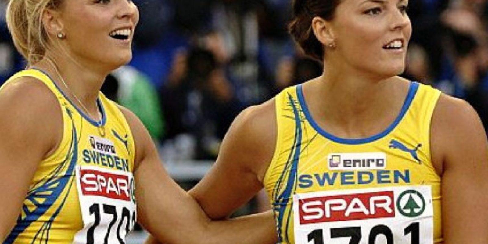 Gemelas suecas especialistas en carreras con vallas Foto:Vía instagram.com/jennakallur