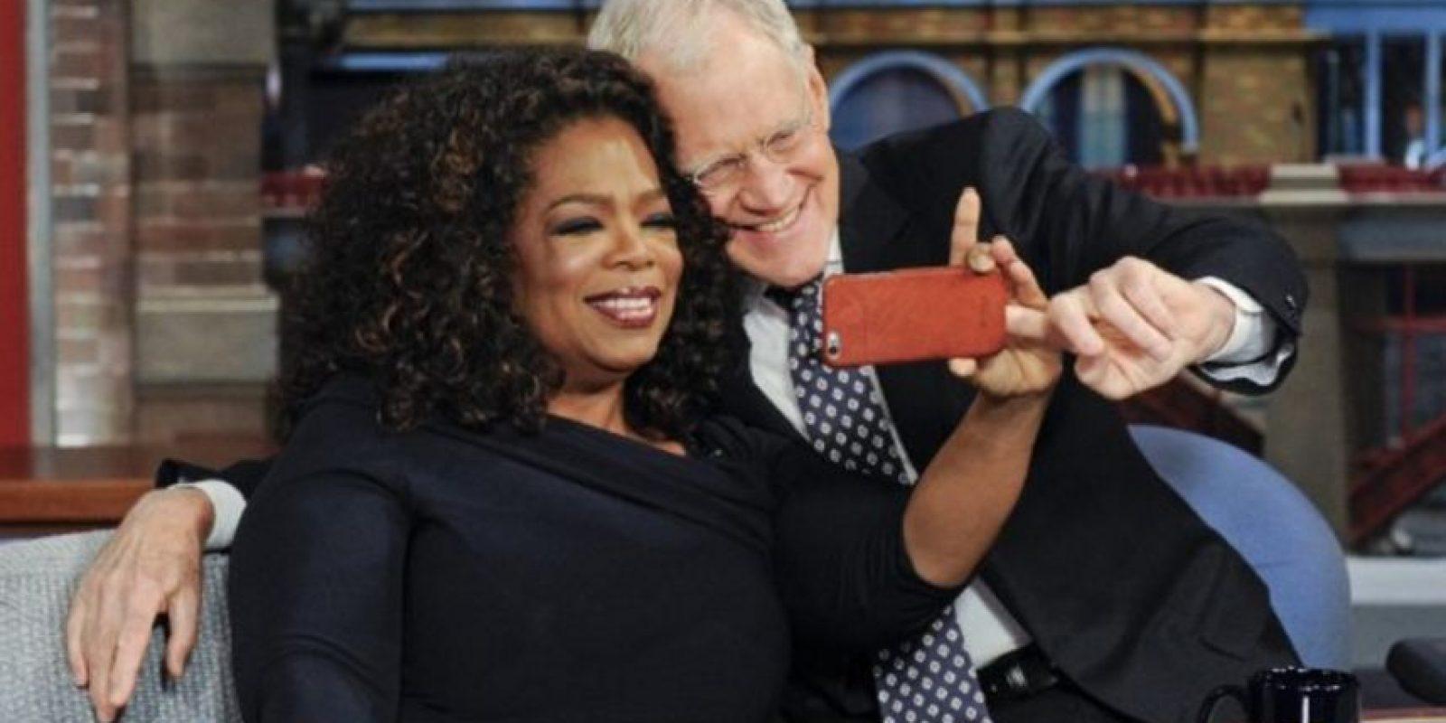 Con Oprah Winfrey Foto:Vía imdb.com