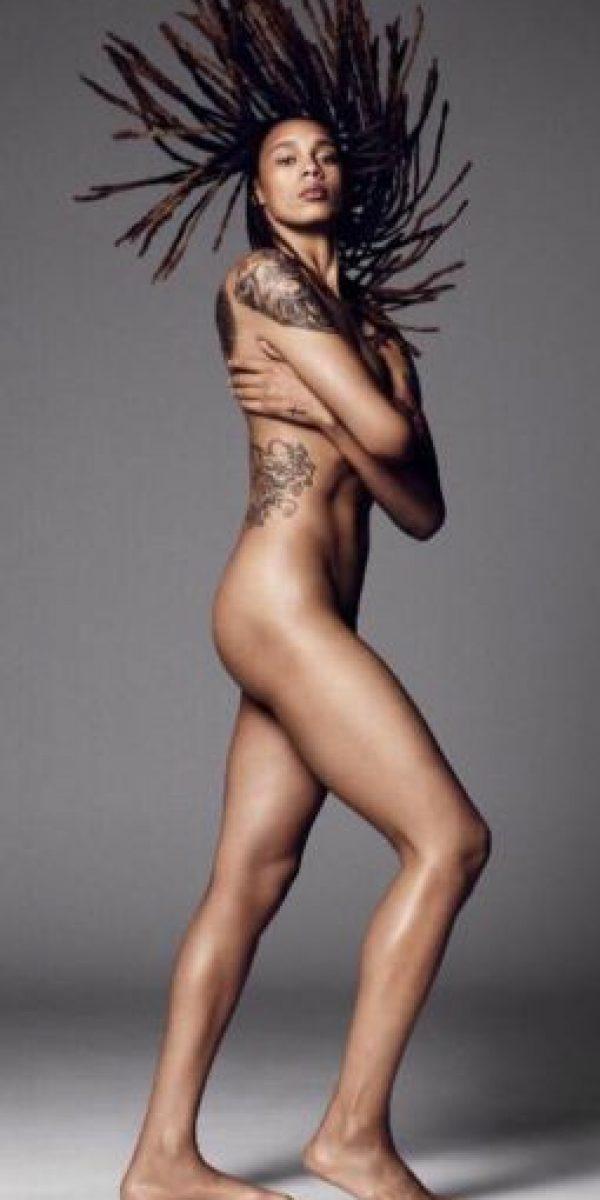 """Ha posado para """"ESPN Body Issue"""" Foto:Vía instagram.com/brittneygriner"""
