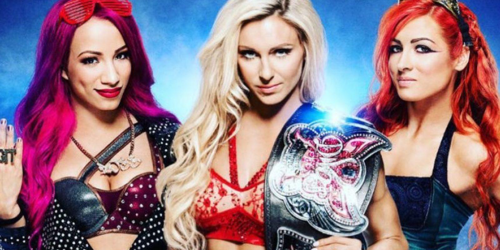 La pelea estelar de mujeres será una amenaza triple Foto:WWE