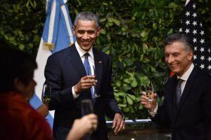 """El presidente norteamericano mencionó horas antes en su visita que había probado mate """"y que le había gustado"""" Foto:AFP"""