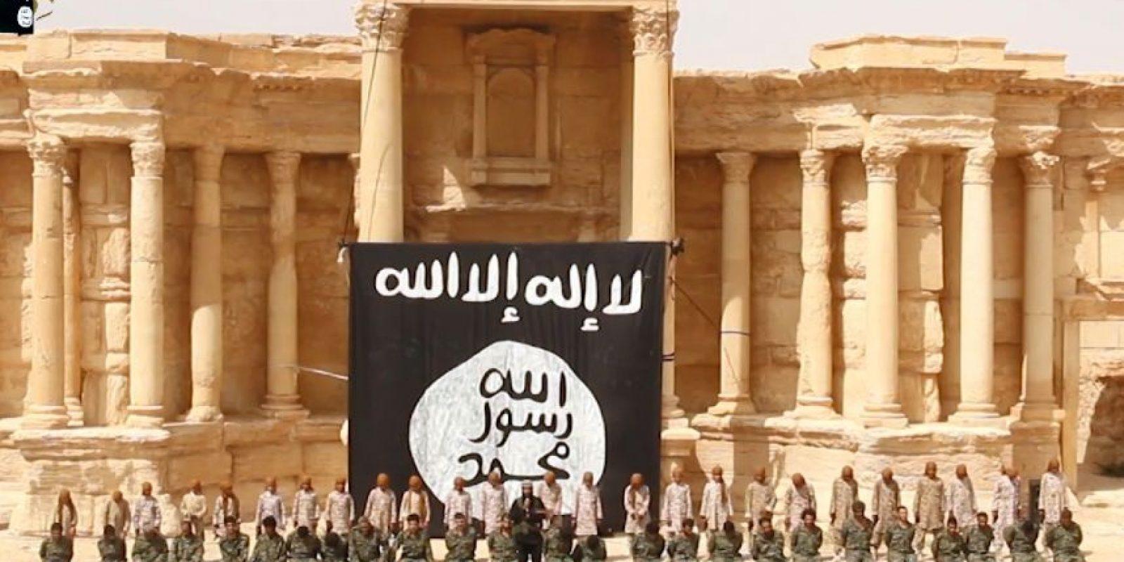 El Estado Islámico capturado Palmira en mayo de 2015 Foto:AFP