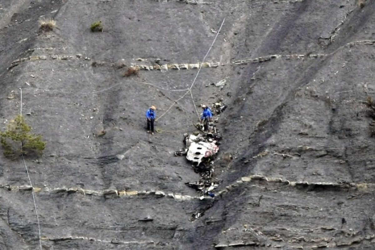Primer aniversario de Germanwings Foto: AFP