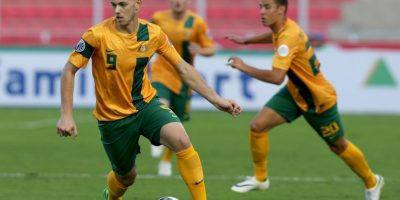 Dylan Tombides. El jugador australiano murió a causa de un cáncer testicular Foto:Getty Images