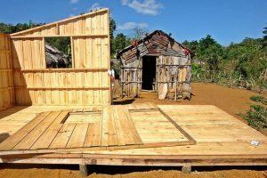 En sus ocho años en República Dominicana (desde el 2008) Un Techo Para Mi País ha trabajado junto a 891 familias en programas de vivienda. Foto: Fuente externa