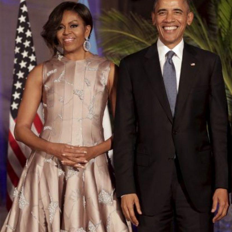 Barack Obama y su familia en Argentina Foto:AP