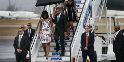 Obama y su familia llegaron el 20 de marzo a la isla. Foto:Getty Images