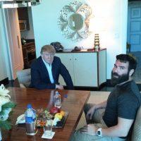 Obviamente, apoya a Donald Trump. Foto:vía Instagram