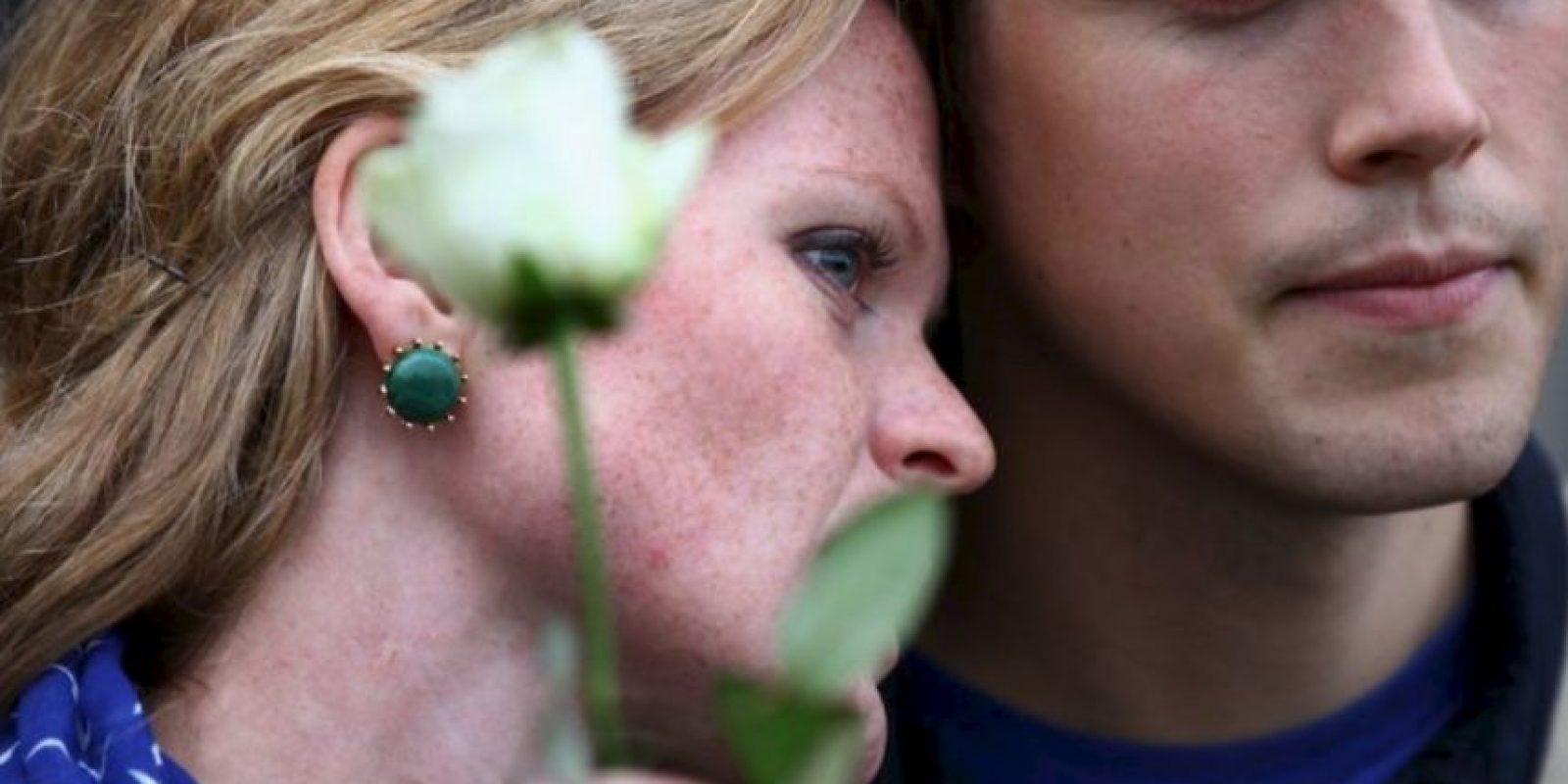 4. ¿Qué pasó con las flores? El romántico gesto desaparece lentamente. Foto:vía Getty Images