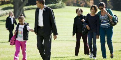 De acuerdo con Michelle Obama, es una mujer muy fuerte. Foto:Getty Images