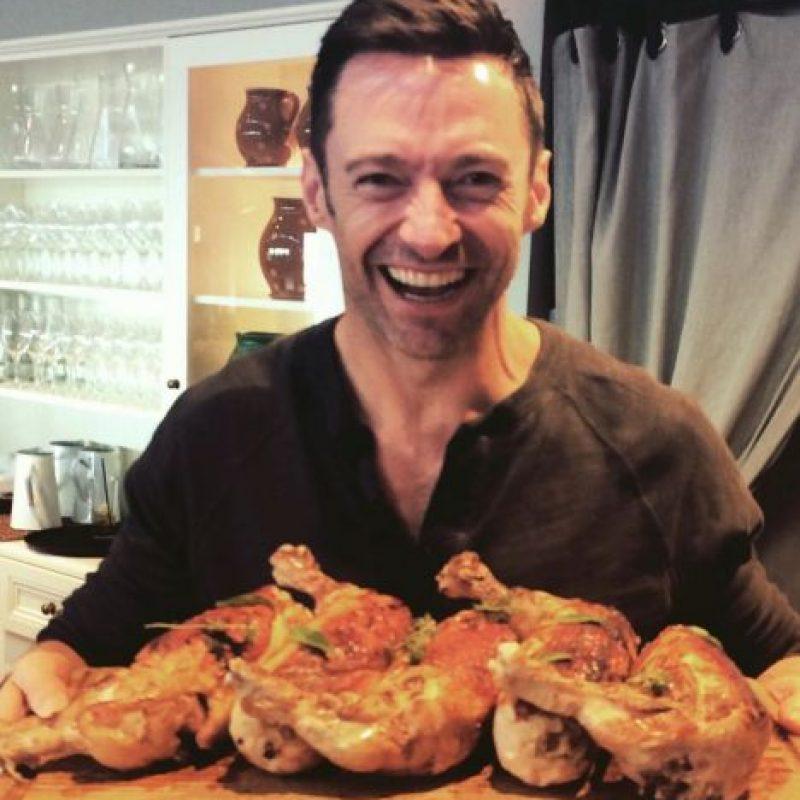 Es un amante de la comida Foto:vía instagram.com/hughjackman