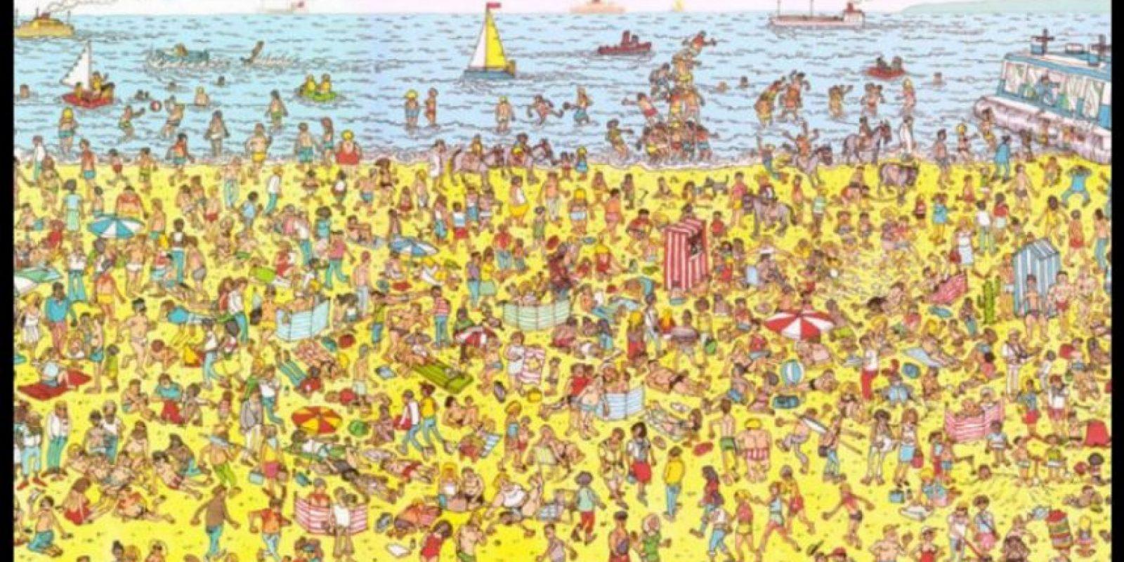 """y el más famoso de todos, """"Y ¿Dónde está Wally?"""" Foto:Tumblr"""
