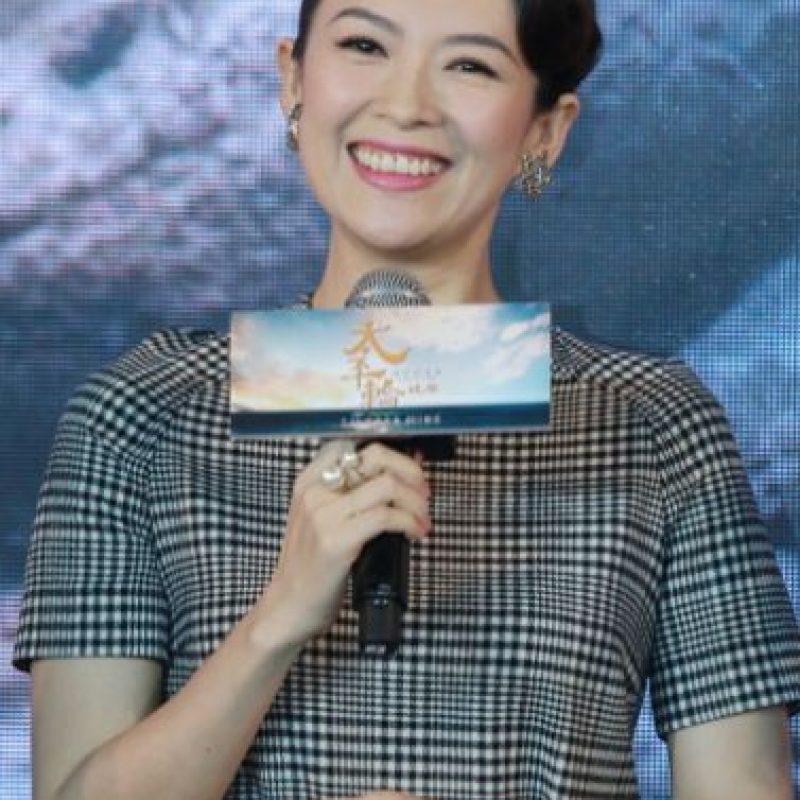 Zhang Ziyi también acaba de ser madre. Foto:vía Getty Images
