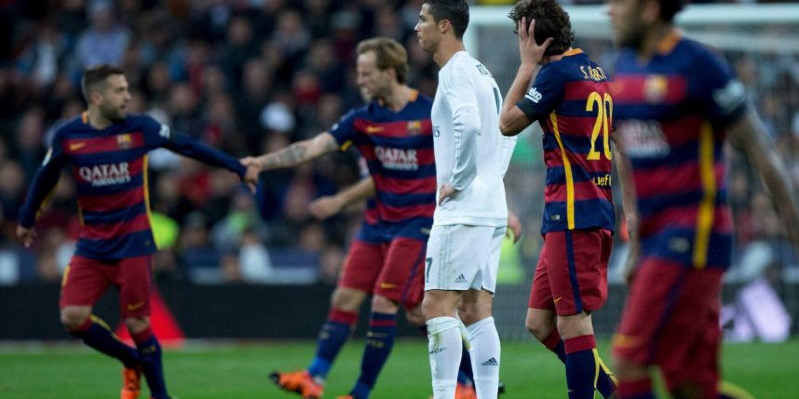 Barcelona y Real Madrid se medirán el próximo sábado, 3 de abril Foto:Getty Images