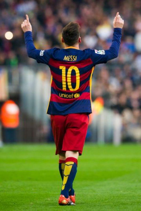 Los culés de Messi marchan como líderes de la Liga de España con 76 puntos Foto:Getty Images