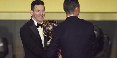 Una vez más llama la atención el duelo de Lionel Messi y Cristiano Ronaldo Foto:Getty Images