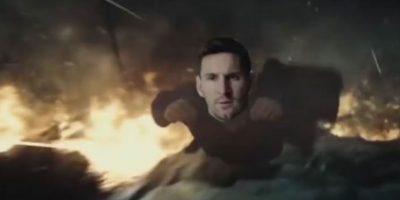 """Tanto que en la red circula una parodia de """"Batman vs. Superman"""" protagonizada por Messi y """"CR7"""" Foto:Twitter"""