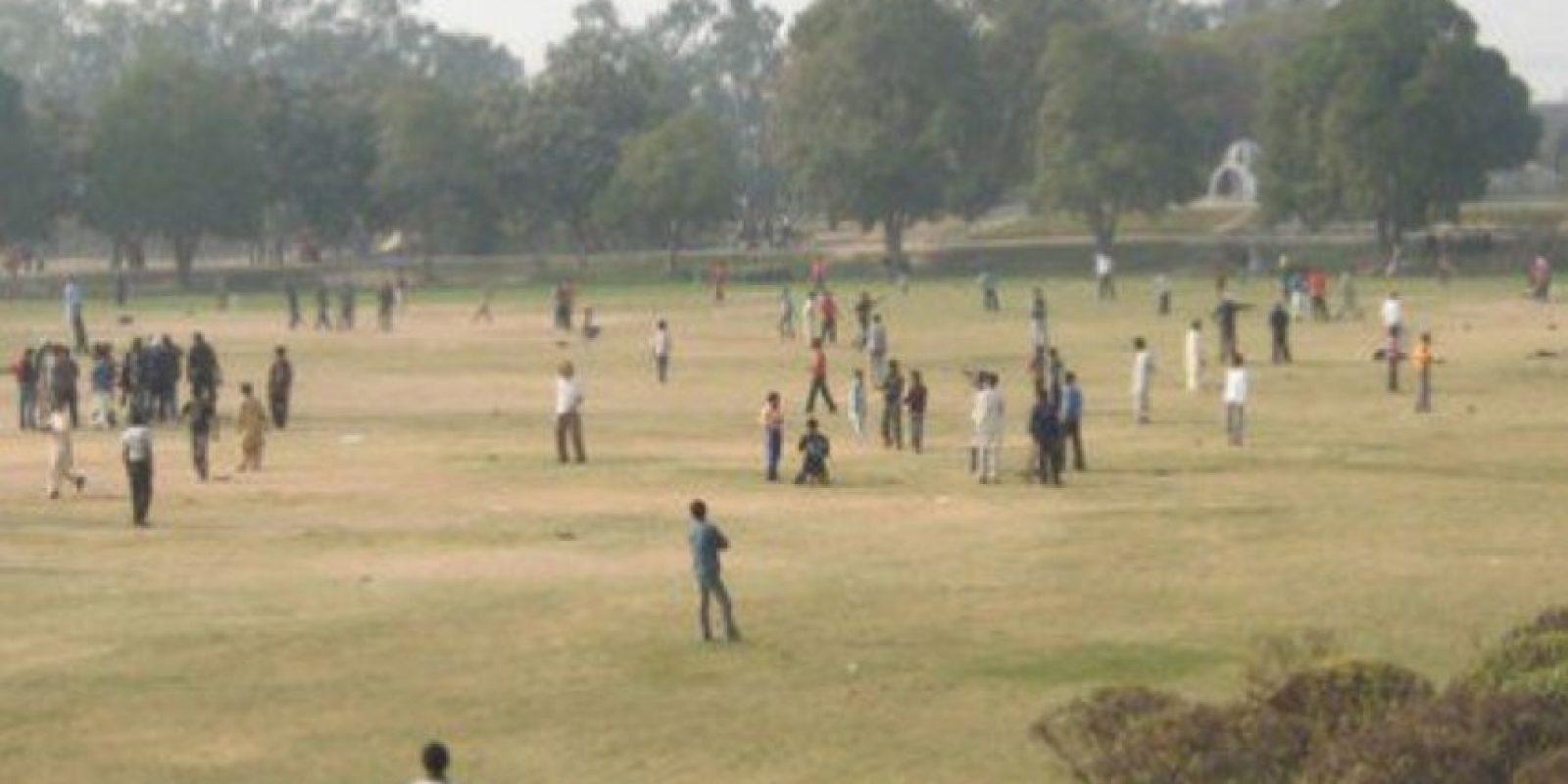Así lucía el parque de diversiones Gulshan-e-Iqbal antes de los antentados. Foto:Twitter