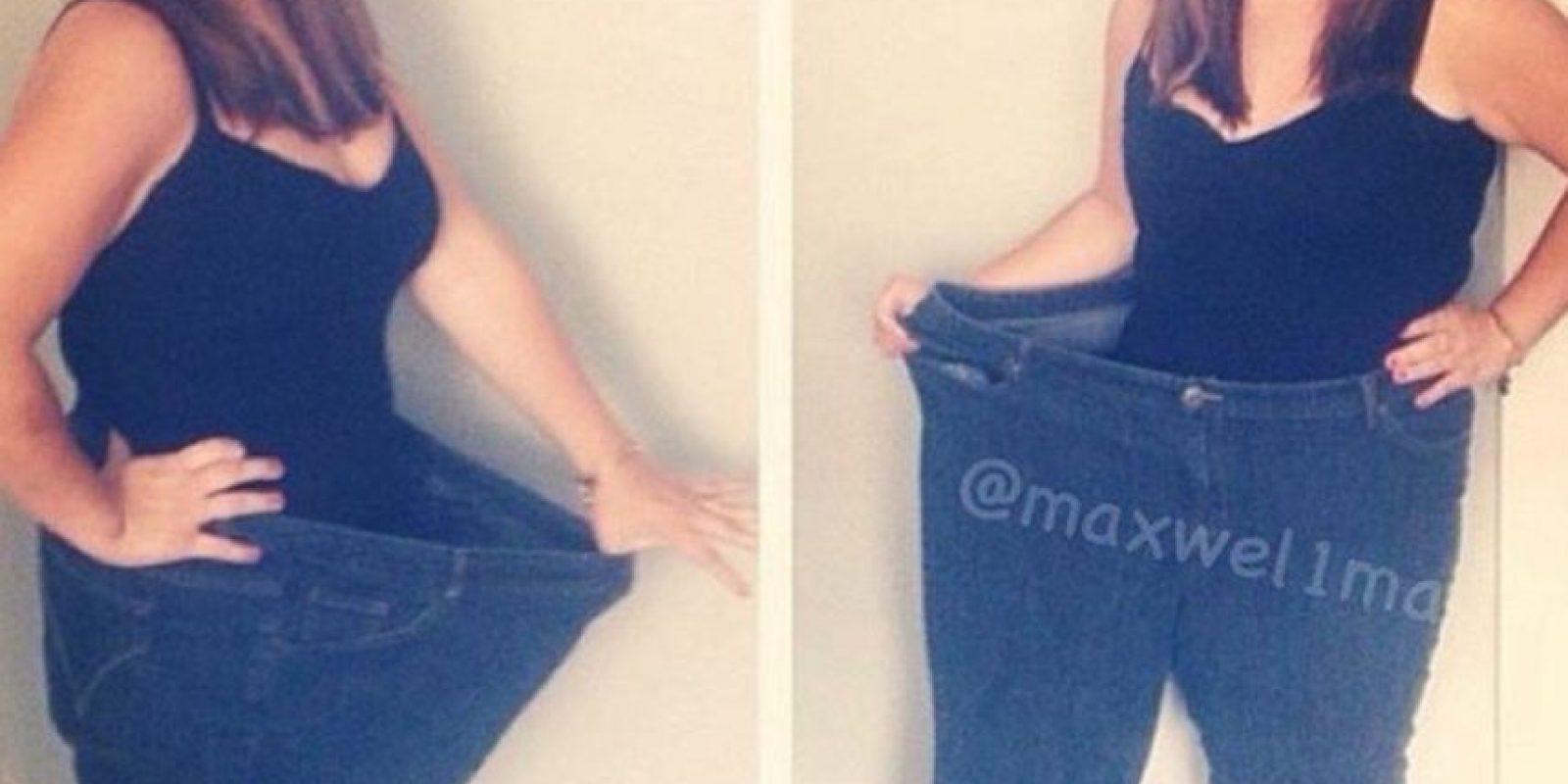 Esta es la figura de Mary a sus 24 años de edad. Foto:Instagram/maxwel1ma