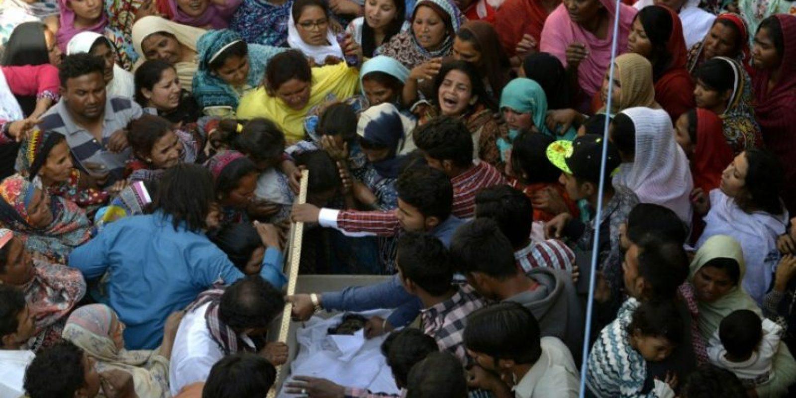 Por esa razón se han comenzado los funerales. Foto:AFP