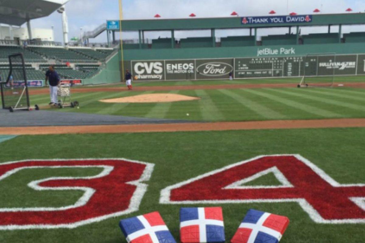 Las tres bases tendrán marcadas la bandera dominicana Foto:marcador.do