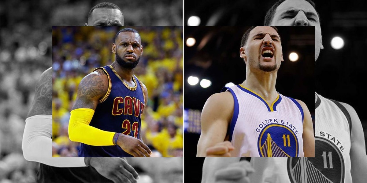 LeBron James y Klay Thompson son los Jugadores de la semana