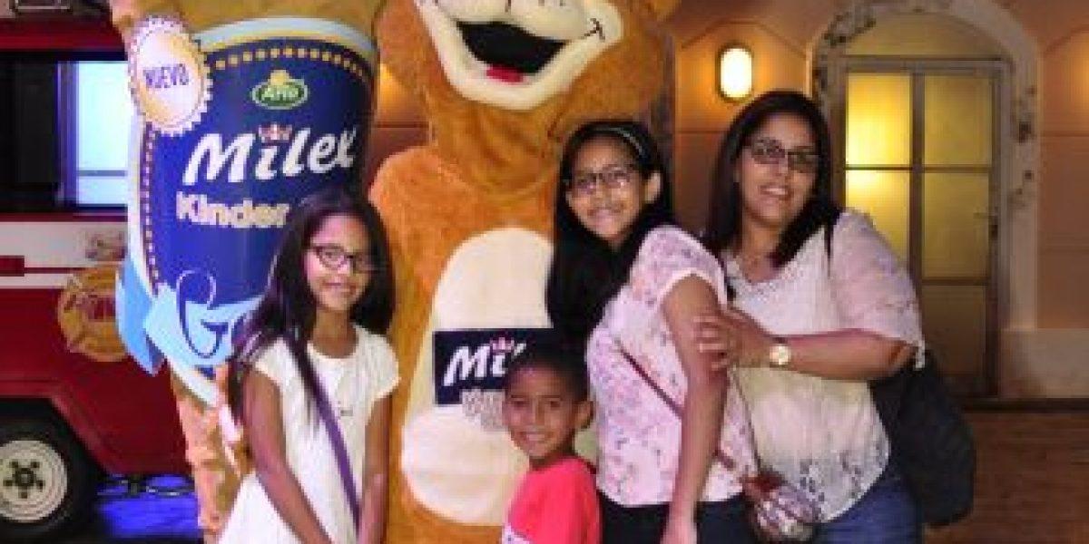 Milex Kinder Gold Gelato realiza tarde feliz