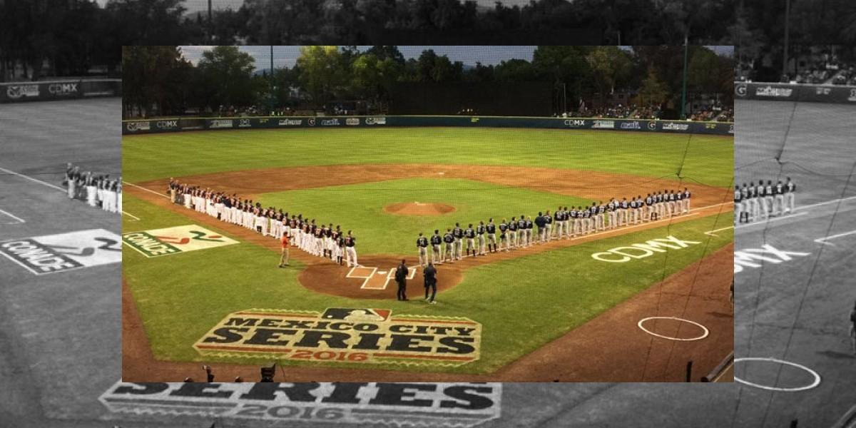 Termina con éxito juegos de MLB en México
