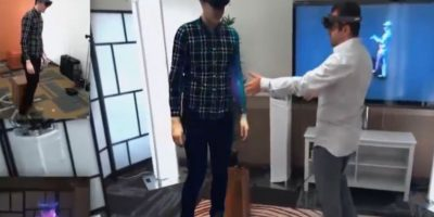 Holoportation, hologramas casi reales. Foto:PublimetroTV