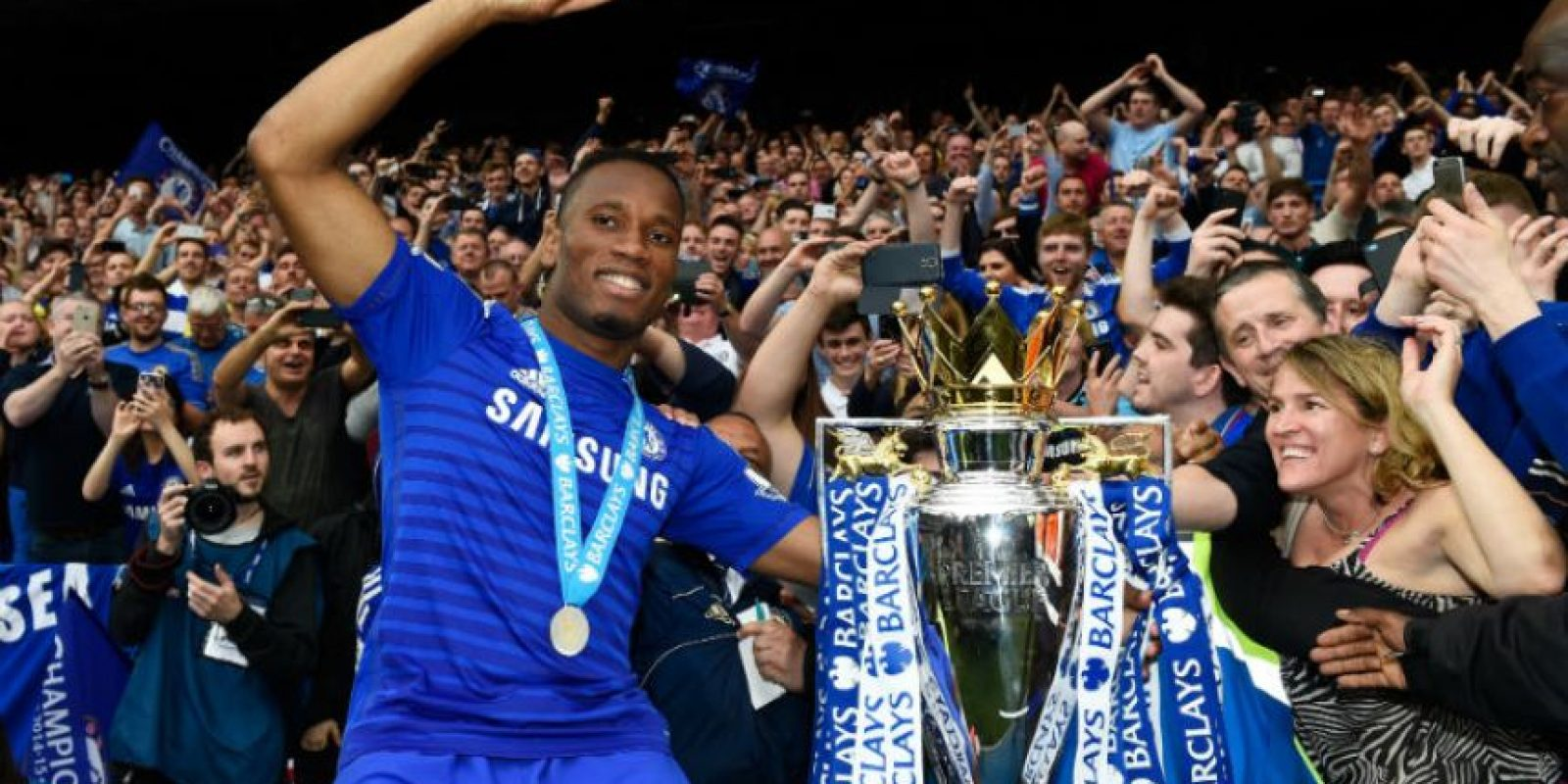 Didier Drogba (Costa de Marfil) Foto: Getty Images