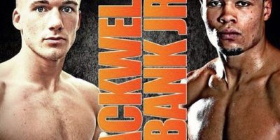 """La pelea se había """"calentado"""" días antes de que subieran al ring Foto:Vía instagram.com/chriseubank"""