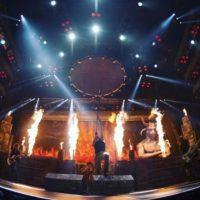 El 3 de marzo en una de sus presentaciones en la Ciudad de México, el baterista de la banda británica, Nicko McBrain, pasó un trago amargo horas antes del concierto en el Palacio de los Deportes. Foto:Vía Instagram/IronMaiden