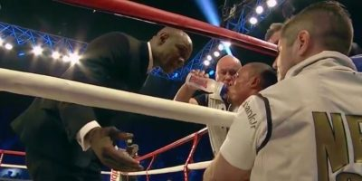 Padre de boxeador le ordena a su hijo que no golpeé a rival para evitar esta desgracia