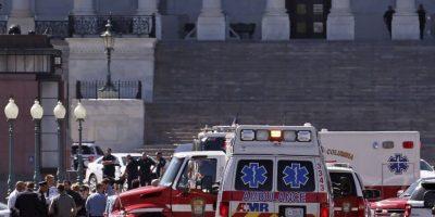 Afortunadamente no se reporto ningún muerto Foto:AP