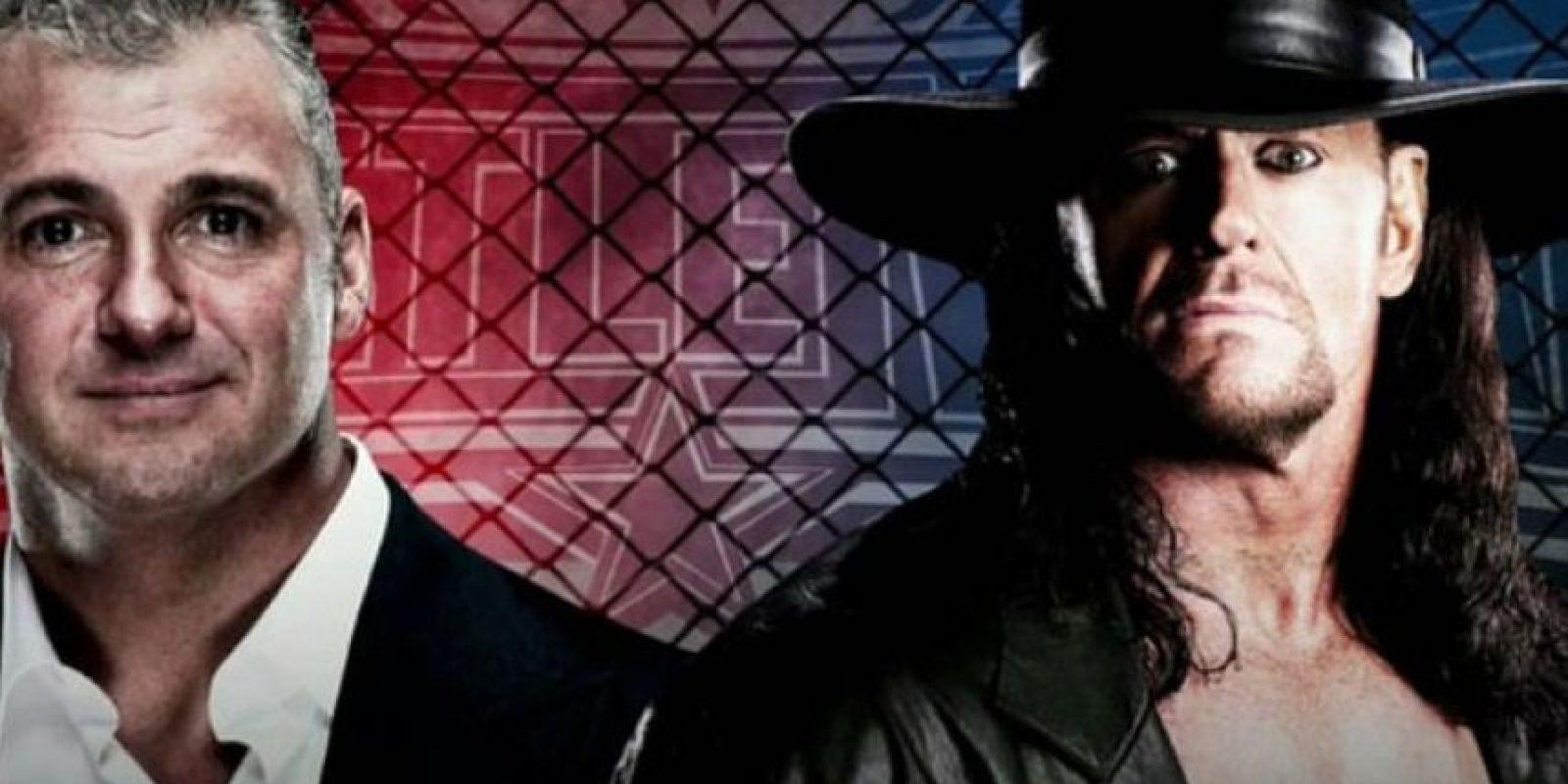Undertaker se medirá con Shane McMahon Foto:WWE