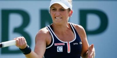 La suiza Bacsinszky clasifica para los cuartos de final del torneo de tenis de Miami