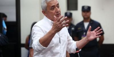 Corrupción en Guatemala, arremetida por expresidente Otto Pérez Molina